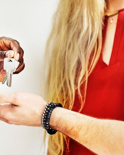 Överlämning av nycklar