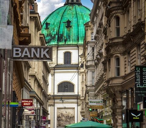 Stadsbild från Wien